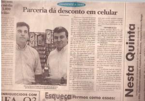 Marcelo Pelucio e Ernesto Watanabe definiram parceria que dá desconto na compra de aparelhos Gradiente